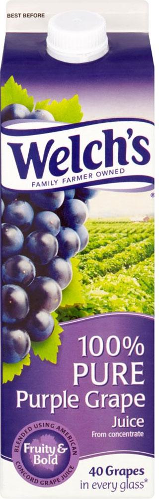 Welch's 100% Pure Purple Grape Juice (1L) - £1.50 @ Waitrose