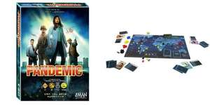 Pandemic £17.99. Rick and Morty Anatomy Park/Close Rick-Counters of the Rick Kind £14.99/£17.99. Game of Thrones 2nd Edition £28.99. Lazer Riderz £24.99 and other reduced board games @ Grainger Games
