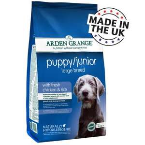 Arden Grange 12kg dry puppy/junior - £30.98 Delivered @ ZooPlus