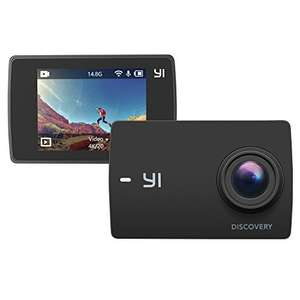 "Yi Discovery Action Camera 4K Wifi Sports Cam 150° Wide View Angel 2"" LCD Touchscreen for Beginners £35.99 Delivered Sold by Seeverything UK and Fulfilled by Amazon."