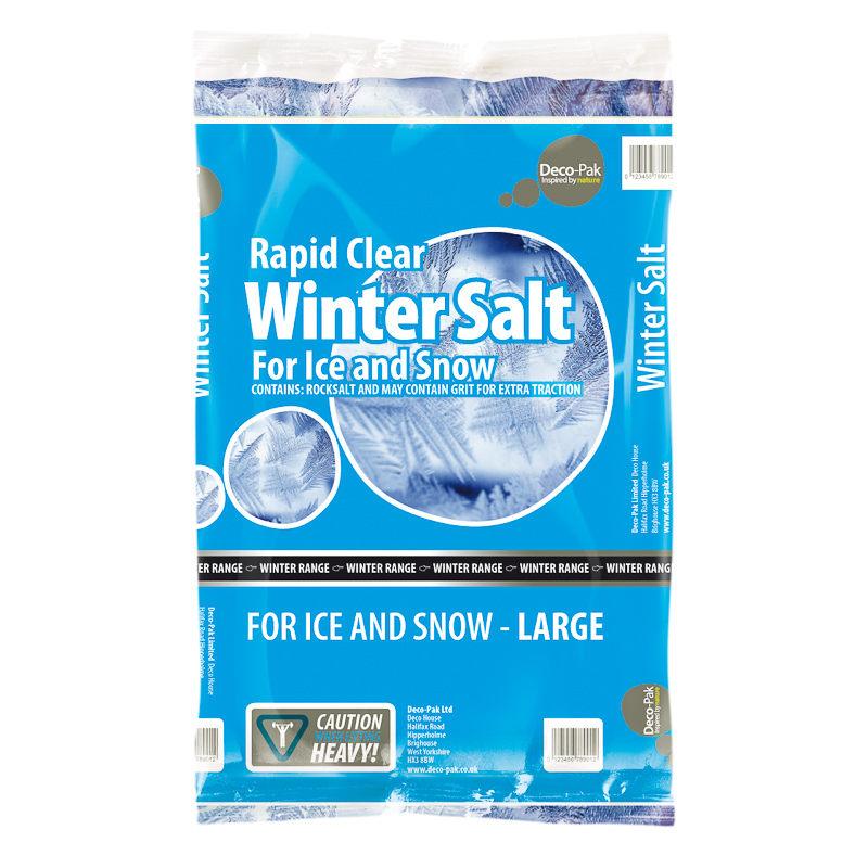 Winter Salt for Ice & Snow - Large(20kg) - £2.99 @ B&M