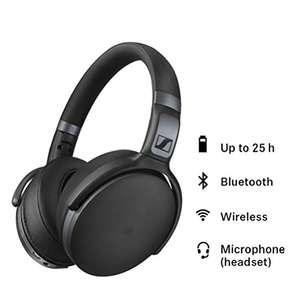Sennheiser HD 4.40 BT Wireless Closed-Back Headset with Bluetooth - Black £89.99 @ Amazon Free Delivery