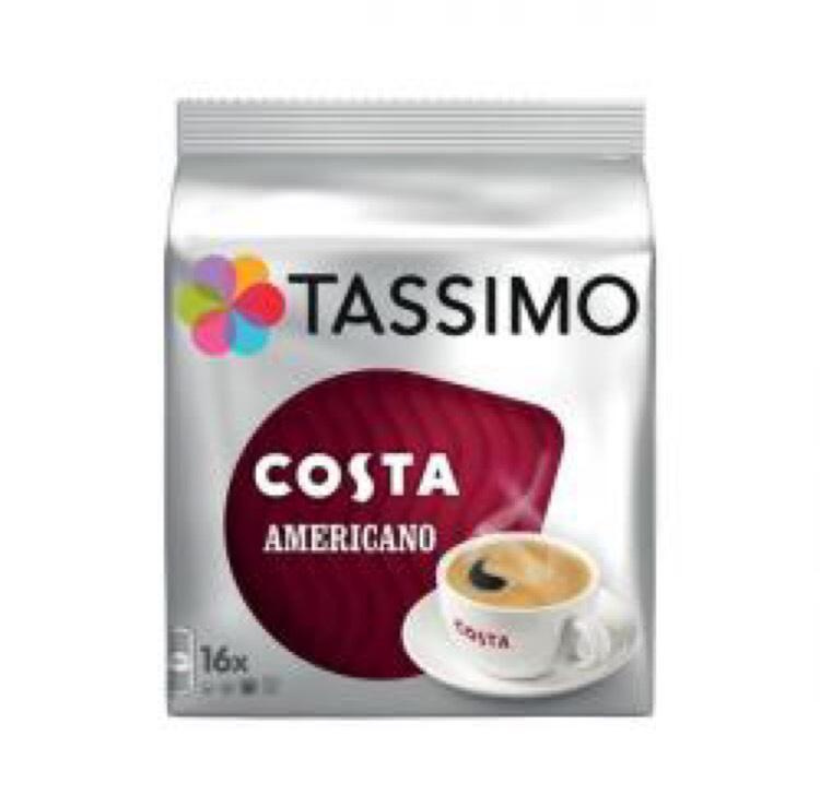 Tassimo Costa Americano £4 @ Asda