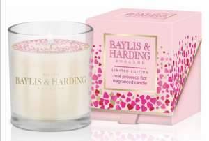 Baylis & Harding Rose Prosecco Fizz candle £2 at Morrison's - in store