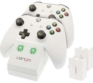 VENOM VS2859 Xbox One Twin Docking Station with code GET5OFF inc. Free Delivery! £9.99 @ Currys