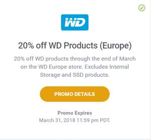 20% off at West Digital online for Plex Pass holders