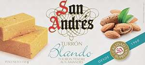San Andres Creamy Almond Nougat, 150 g £3.04 amazon add on item minimum 20 pound spend