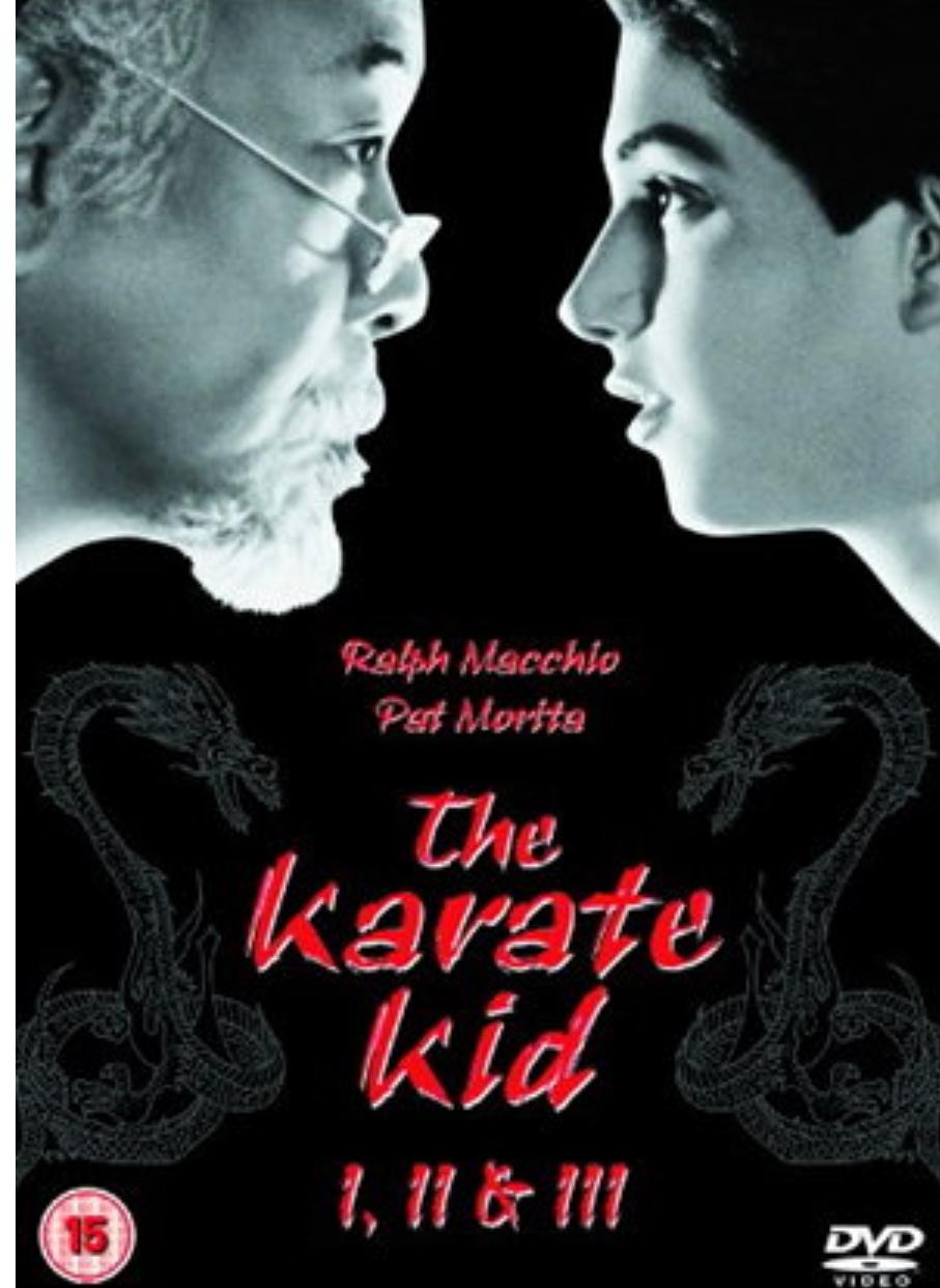 The Karate Kid (Part 1 , 2 & 3), £5.09 delivered @ Base