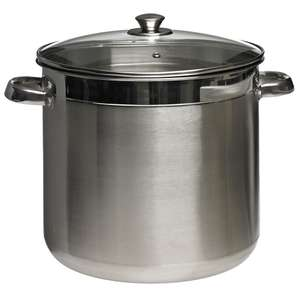 Stainless Steel Stock Pot 12 Litres for £12 @ Wilko (Free C&C)