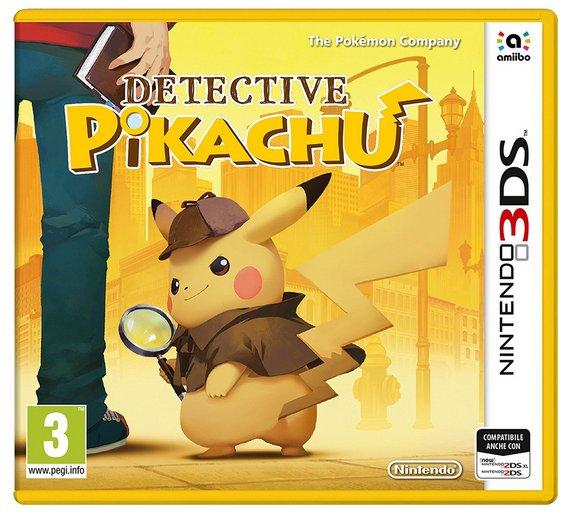 Detective Pikachu Pre-order £30.99 @ Argos