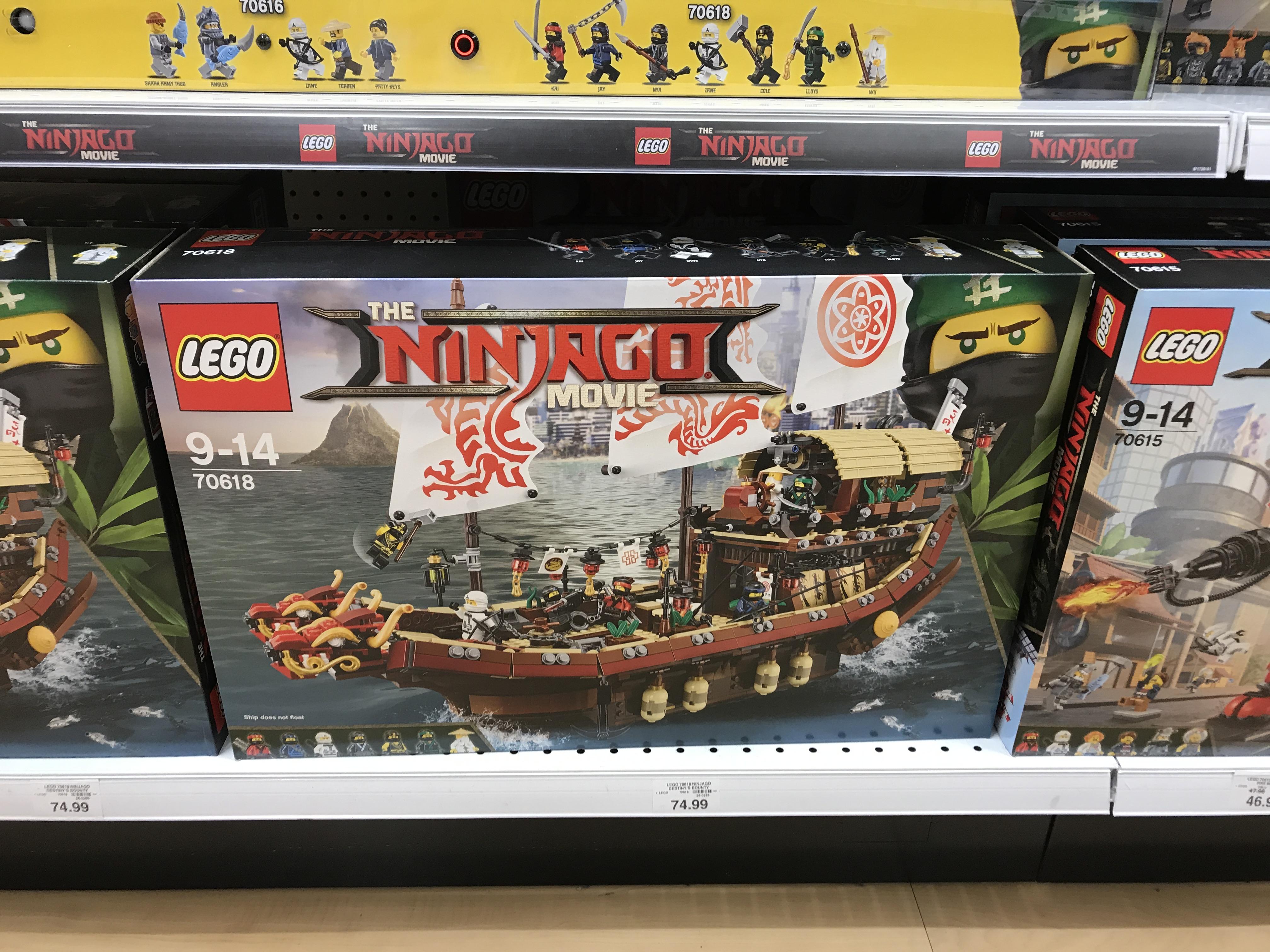 Lego Ninjago Movie Destiny's Bounty 70618 £67.50 @ Toys R Us