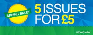 5 magazines for £5 @ My Favourite Magazines