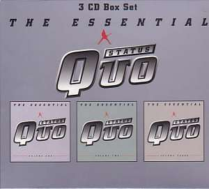 The Essential Status Quo Box set - 3 CDs, 54 tracks £5.99 Prime £7.98 Non Prime Amazon, including AutoRip