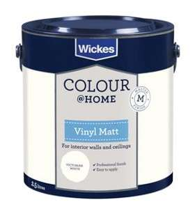 Wickes Colour @ Home Paint 2 for £14 - Saving 42%