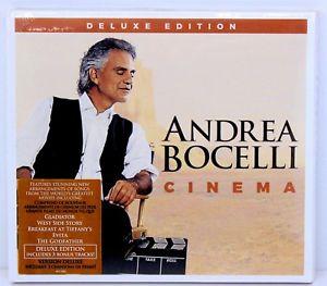 Andrea Bocelli Cinema Deluxe Edition £2.99 @ mdwukltd Ebay