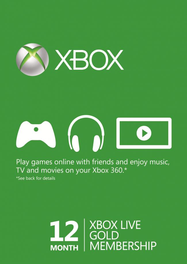 12 Months Xbox Live Gold £34.99 @ cdkeys