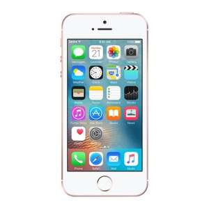Apple iPhone SE 16GB Rose Gold (Pink) O2, Refurbished Good £99.99 @ MusicMagpie