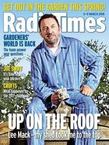 12 copies of Radio Times for £1 delivered by buysubscriptions,com (I also found 5 copies of Gardeners' World for £5 delivered!)