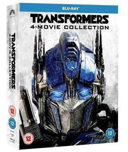 Transformers: 4-movie Collection (Blu-Ray Box Set) £8.41 Delivered (Using Code) @ Zoom