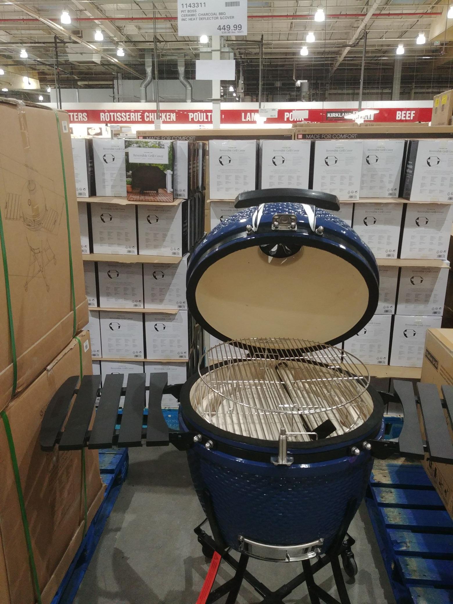 "Pit Boss 24"" (61cm) Kamado Grill Ceramic BBQ + Cover £539.98 instore £639.99 online @ Costco"