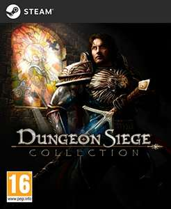 PC : Dungeon Siege Collection £2.24 or buy each game individually from 69p (Direct with Steam) Dungeon Siege Collection = 1 + 2 + 3 + DLC £2.24 reduced from £14.99