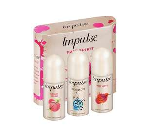 Impulse mini trio gift set £1.49 @ Argos
