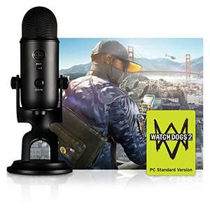 Blue Blackout Yeti + Tom Clancy's Ghost Recon Wildlands PC (or Watch Dogs 2 PC) £79.99 @ Amazon