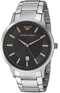 Emporio Armani Mens Watch Stainless Steel Bracelet Dark Grey Dial AR2514 , £106 delivered @ Fruugo