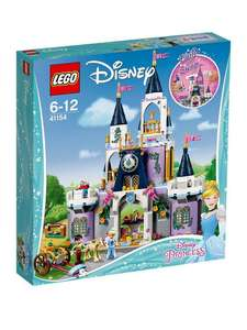 Lego Disney Cinderella Castle 41154 £49.97 at Asda George