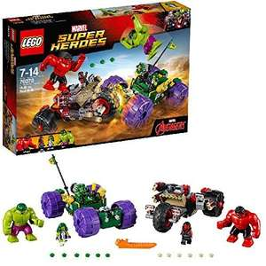 LEGO 76078 Marvel Super Heroes Hulk Vs Red Hulk £31.99 @ Amazon