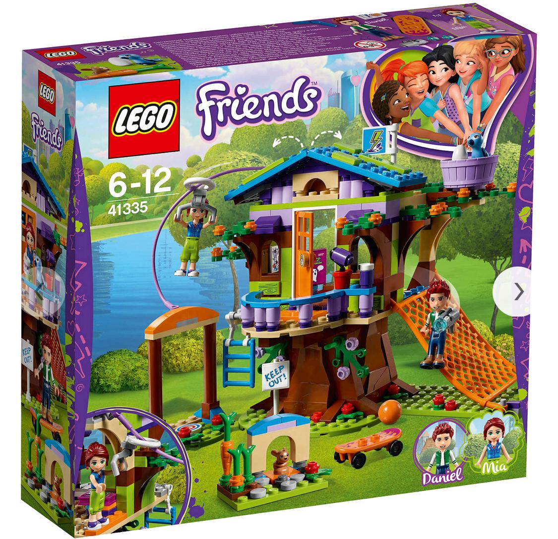 LEGO Friends 41335 Mia's Tree House , £18.97 C+C @ Asda George