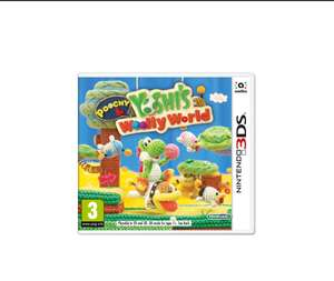 Poochy & Yoshi's Woolly World on Nintendo 3DS, for £19.99 @ SimplyGames