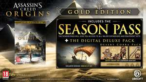 "Assassins Creed: Origins Gold Edition for £53.59 incl. shipping with code ""BAYEK"" for 33% off (potential £42.87 with Ubisoft Club code for a further 20% off) @ Ubisoft"