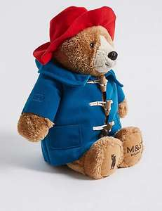 Paddington Soft Toy, back in stock at Marks and Spencer - £12 + free store collection