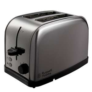 Russell Hobbs Futura 2 Slice Toaster for £10 instore @ B&M