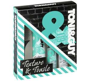 Toni & Guy Texture Tousle Collection Kit - £3.99 + Free click and collect at Argos