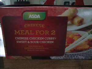Asda Chinese meal box for 2 - £3 instore
