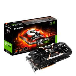 GIGABYTE 1060 Xtreme Gaming 6GB Graphics Card - £265.45 Delivered at BT Shop