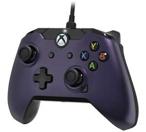 PDP licensed wired Xbox One controller (purple) £17.99 @ Argos