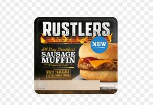 Rustlers all day breakfast sausage muffin free with 50p Daily Star newspaper