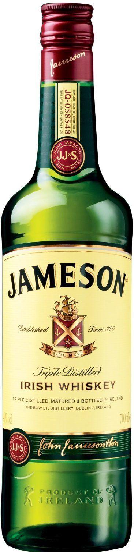 Jameson Irish Whiskey, 70cl - £15 Prime / £19.75 non Prime @ Amazon