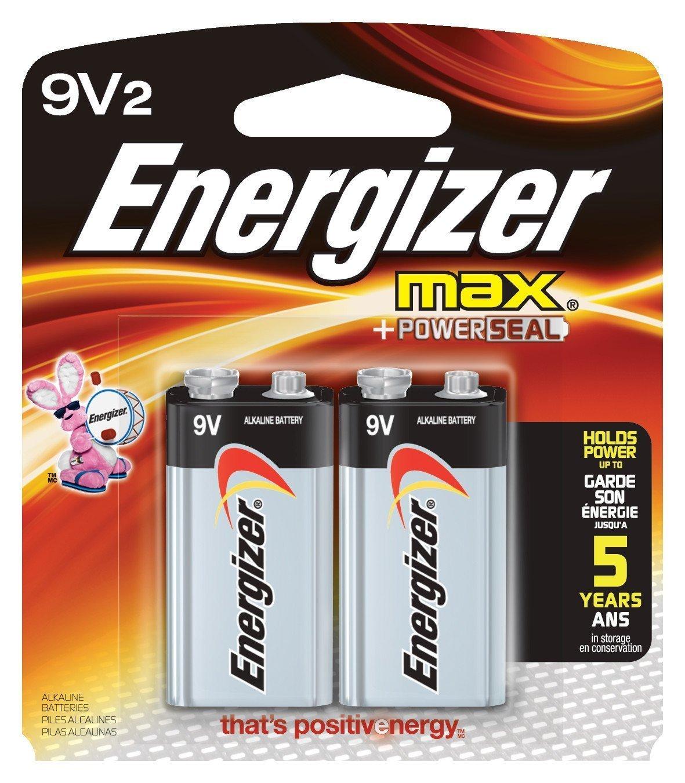 Energizer 9V battery - 2 pack - 70p instore @ Asda (Hull)