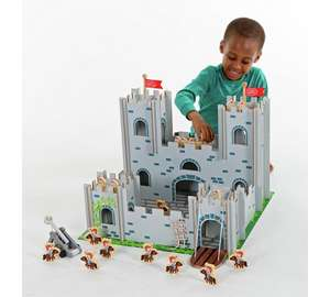 Chad Valley Wooden Castle Playset £13.99 @ Argos