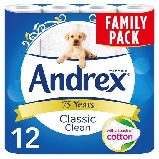 ANDREX WHITE TOILET PAPER 12-pack - £2.88 instore @ Tesco