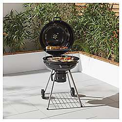 Tesco 56cm Kettle Charcoal BBQ £50 Free Click & Collect or £3 Delivery @ Tesco Direct