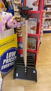 Full length snow shovel just £1 at The Works. Bit late for the recent weather, but best time to buy one!