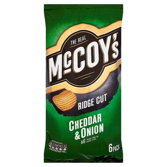 12 Pack McCoys Ridge Cut The Classics £1 instore @ Heron