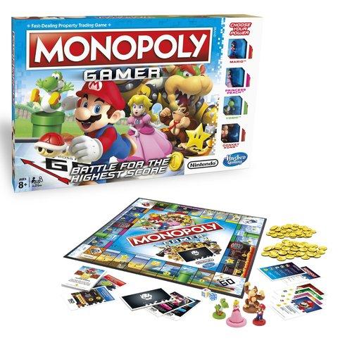 Mario Monopoly Gamer £16.99 @ Smyths (free C&C)