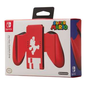 Switch Joy-Com Mario theme comfort grip £5.99 @ Smyths (free C&C)