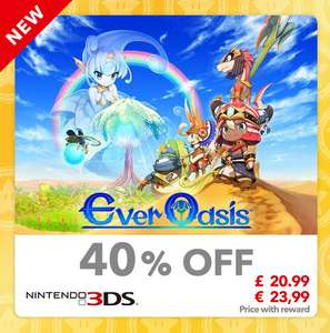 (Digital) Ever Oasis 3DS game £20.99 using 160 My Nintendo Gold Points via Nintendo Store